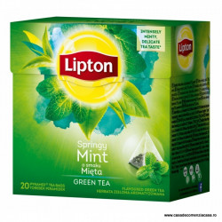 Ceai Lipton Green Tea Mint
