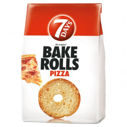 7 DAYS BAKE ROLLS PIZZA 160G